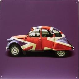 фото Картина на металле Феникс-Презент «Автомобиль»