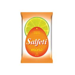 фото Салфетки влажные Salfeti Mini «Лайм» №15