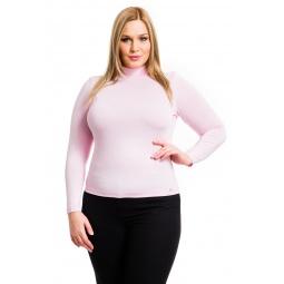 фото Водолазка Mondigo XL 036. Цвет: бледно-розовый. Размер одежды: 50