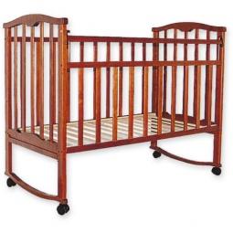 фото Кроватка детская Агат Золушка-1. Цвет: вишневый