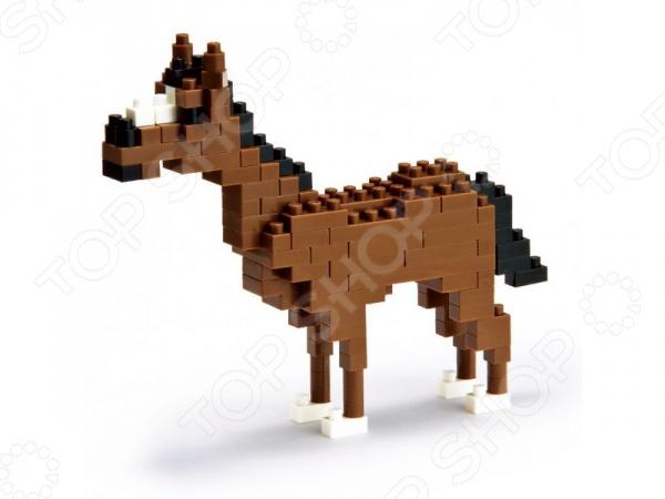 Мини-конструктор Nanoblock «Лошадь» конструктор коала nanoblock