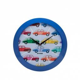 Купить Часы настенные Mitya Veselkov «Цветные машинки»