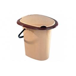 Купить Ведро-туалет «Комфорт». В ассортименте. Объем: 16 л