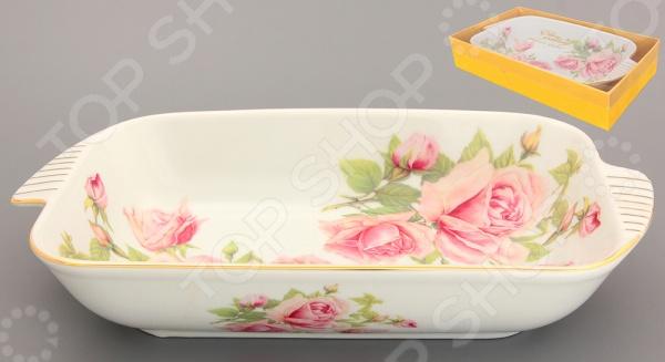 фото Блюдо-шубница Elan Gallery «Розовая фантазия», Салатницы