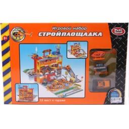 фото Набор игровой для мальчика PlaySmart «Стройплощадка»