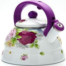 Купить Чайник со свистком Mayer&Boch «Розы» MB-23084