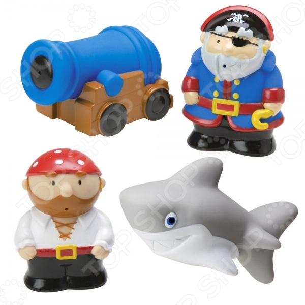 Набор игрушек для ванны Alex «Пираты»