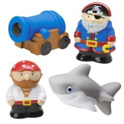 Купить Набор игрушек для ванны Alex «Пираты»