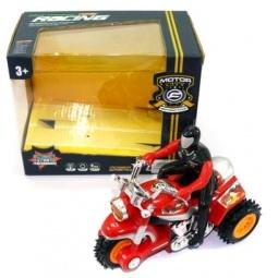 фото Мотоцикл игрушечный с фигуркой Shantou Gepai «Перевертыш» 0589