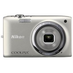 фото Фотокамера цифровая Nikon Coolpix S2700. Цвет: серебристый