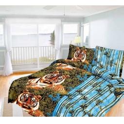 фото Комплект постельного белья Олеся «Бенгальский тигр». 2-спальный