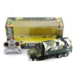 фото Машина на радиоуправлении Shantou Gepai «Грузовик военный»