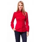 Фото Блузка Mondigo 9606. Цвет: красный. Размер одежды: 46