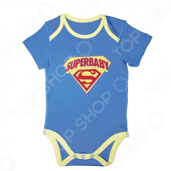 Боди SuperBaby Logo
