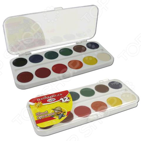 Акварель медовая Гамма «Юный художник»: 12 цветовУголь. Пастель. Краски. Блестки<br>Не секрет, что рисование является для детей одним из самых любимых и увлекательных занятий. Оно, в полной мере, раскрывает творческий потенциал и способствует развитию у малышей фантазии и воображения. Помимо этого, рисуя или разукрашивая, ребенок учится правильно сочетать цвета, запоминает их названия и основные оттенки. Акварель медовая Гамма Юный художник станет отличным приобретением для маленького художника. Акварель является водорастворимой краской и содержит в своем составе органические пигменты. В качестве связующего вещества используется натуральный пчелиный мед. Среди основных преимуществ медовой акварели можно отметить яркий насыщенный цвет красок и устойчивость к выгоранию по действием прямых солнечных лучей. Товар прошел строгую сертификацию и соответствует всем нормам безопасности, применяемым к данному типу продукции.<br>