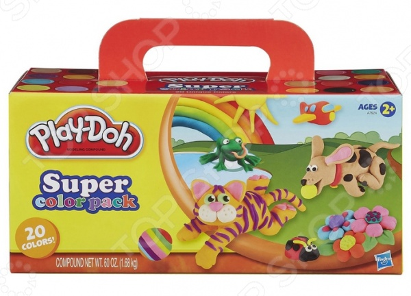 Набор пластилина из 20 банок Play-Doh Play-Doh