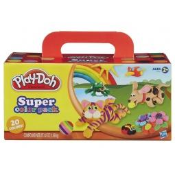 Купить Набор пластилина из 20 банок Play-Doh Play-Doh