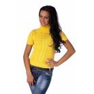 Фото Свитер вязаный Mondigo 9004. Цвет: желтый. Размер одежды: 44