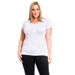фото Футболка Mondigo XL 8543. Цвет: белый. Размер одежды: 48