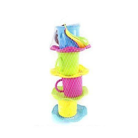 Купить Набор посуды игрушечный Shantou Gepai «Чаепитие»