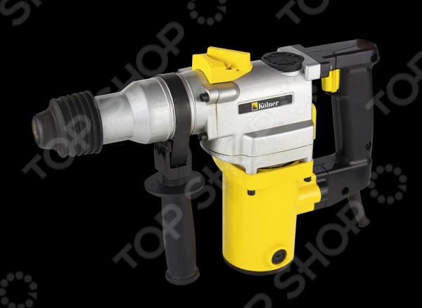 Перфоратор Kolner KRH 720CПерфораторы<br>Перфоратор Kolner KRH 720C профессиональный инструмент, без которого не могут обойтись ни одни серьезные ремонтные или строительные работы. Применяется для бурения отверстий в бетоне, камне, и других твердых материалах, бурами с максимальным диаметром 30 мм. Дополнительные режимы позволяют использовать перфоратор в режимах: сверление, сверление с ударом, долбление. Максимальный диаметр сверления: дерево 30 мм, бетон 26 мм, металл 13 мм. Патрон: SDS-plus. Благодаря удобным регулировкам, простому в применении патрону, приличной мощности, составляющей 680 Вт., вы получаете высокую производительность, существенно сокращающую общее время работ. Кроме того, эргономичная форма, его ручки не нагружают кисть и дают возможность комфортной работы даже на протяжении длительного времени. Позаботьтесь о том, чтобы ваш инструменты был максимально удобен и безопасен. В комплекте есть: дополнительная съемная рукоятка, глубиномер, 3 бура, плоское долото, пика, пыльник, ключ, ключ для крышки отсека для смазки, дополнительный патрон для обычных сверл с переходником, запасные угольные щетки. А для удобного хранения и переноски предусмотрен пластиковый кейс. Особенности:  Предохранительная муфта предназначена для прекращения вращения патрона при заклинивании бура, что напрямую влияет на надежность инструмента и защищает оператора.  Металлический глубиномер служит для сверления отверстий на заданную глубину.  Пылезащитный колпачок эффективно защищает инструмент от пыли.  Быстрая смена насадок благодаря патрону SDS-plus.<br>