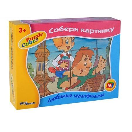 Купить Кубики Step Puzzle «Малыш и Карлсон»