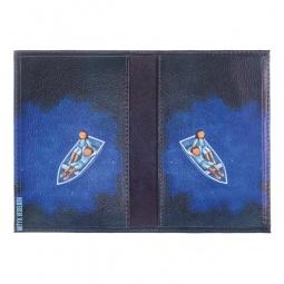 фото Обложка для паспорта двухсторонняя Mitya Veselkov «Влюбленные ночью в лодке»