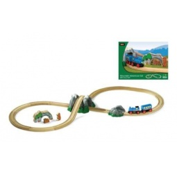 фото Набор железной дороги игрушечный Brio «Путешествие в горах»
