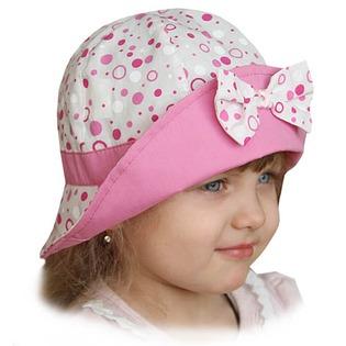 Купить Панама для девочки Shapochka «Катюша» ЯВ121033. Цвет: серый, розовый
