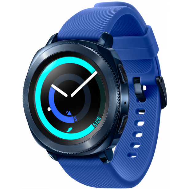 фото Смарт-часы Samsung Galaxy Gear Sport. Цвет: синий