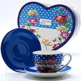 Купить Чайная пара Mayer&Boch MB-22997 «Букет»