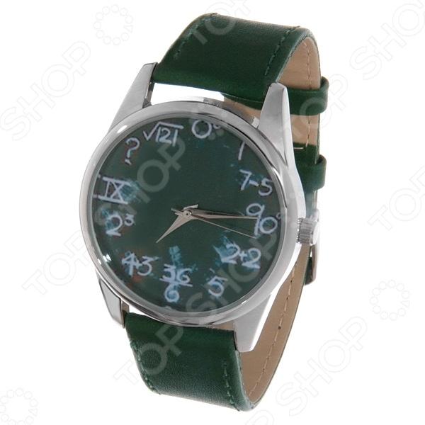 Часы наручные Mitya Veselkov «Школьная доска» Color часы наручные mitya veselkov райский сад color