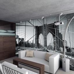 Купить Фотообои ARD Maximage «Вид с Бруклинского моста в Нью-Йорке»