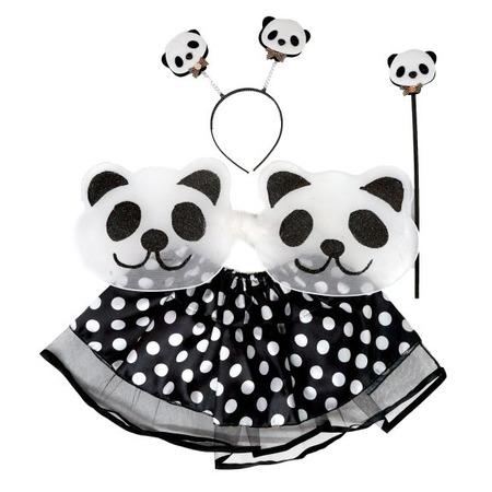 Купить Костюм новогодний для девочки Новогодняя сказка «Панда» 972131