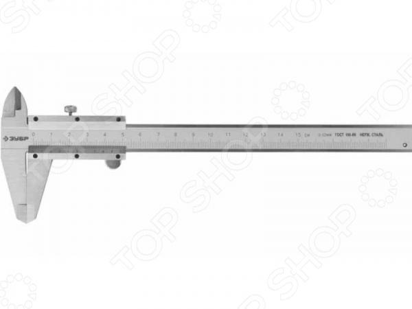 Штангенциркуль Зубр Эксперт 34512 нониусный инструмент, с помощью которого можно измерить наружные и внутренние линейные размеры, а также глубины. Используется для точного измерения как наружных, так и внутренних размеров изделий, с шагом 0,05 мм. Прецизионная обработка обеспечивает высокую точность измерений. Корпус сборный, выполнен из прочной нержавеющей стали.