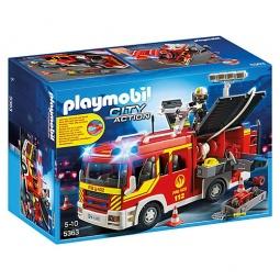 фото Конструктор игровой Playmobil «Пожарная служба: Пожарная машина со светом и звуком»