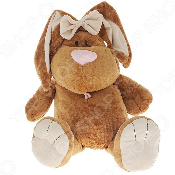 Мягкая игрушка Gulliver Кролик сидячий 7-4204 gulliver кролик белый сидячий 71 см 7 42230