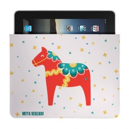Купить Чехол для iPad Mitya Veselkov «Скандинавская лошадка»