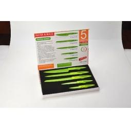 фото Набор ножей с антибактериальным покрытием Mayer&Boch MB-21491 в коробке