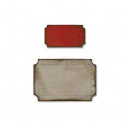 фото Форма для вырубки на магнитной основе Sizzix Movers & Shapers Die Мини-билетики