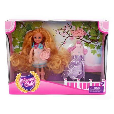 Купить Набор игровой с куклой Shantou Gepai Princess Club «Мой гардероб» KW20913