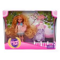 фото Набор игровой с куклой Shantou Gepai Princess Club «Мой гардероб» KW20913