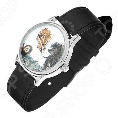 Часы наручные Mitya Veselkov «Ежик c листочком»