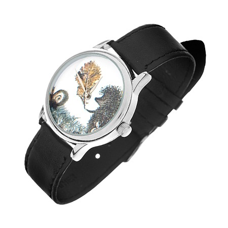 Купить Часы наручные Mitya Veselkov «Ежик c листочком»