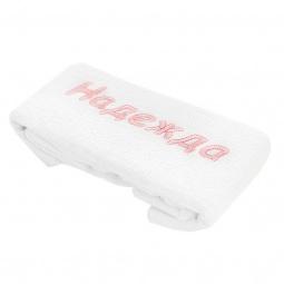 фото Полотенце подарочное с вышивкой TAC Надежда. Цвет: белый
