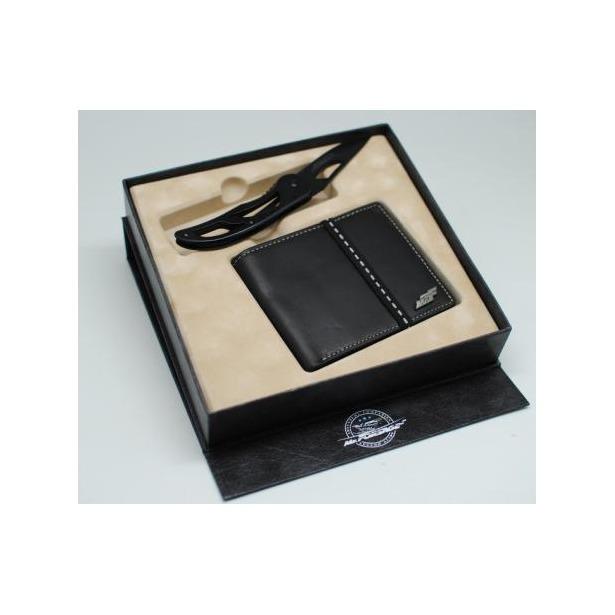 фото Набор: нож перочинный и портмоне Mr.Forsage 800-022