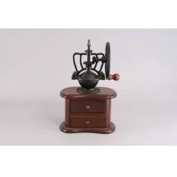 фото Кофемолка деревянная с колесом Gipfel 9212
