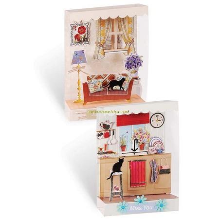 Купить Набор для создания миниатюр Белоснежка «Уютный дом»