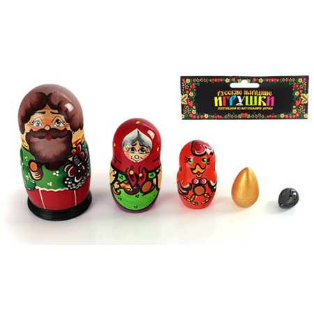 Купить Матрешка БЭМБИ «Курочка Ряба»