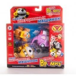 фото Набор машинок инерционных Vroomiz «Спиди, Софи, Слон пожарный»